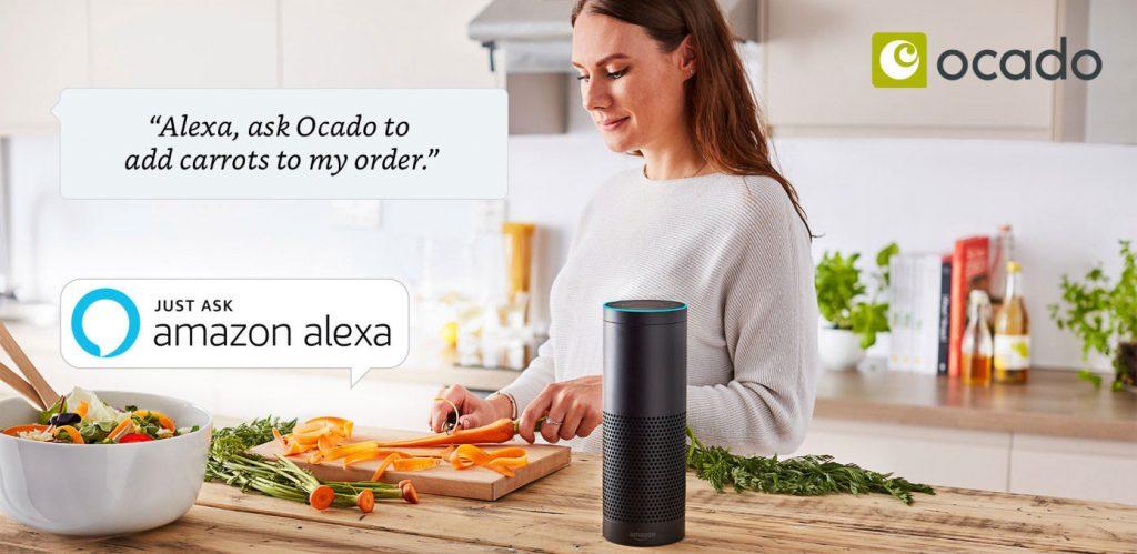 British Supermarket Ocado integrates Alexa Skill into its customer journey