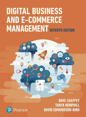"""Book Cover of """"Digital Business and E-Commerce Management"""""""