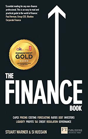 """Book Cover of """"The Finance Book: Understand the numbers even if you're not a finance professional"""""""