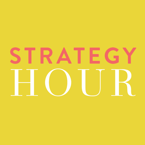 The Strategy Hour Podcast Cover